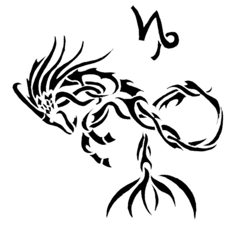 Tribal Zodiac X Capricorn By Sakashima On Deviantart