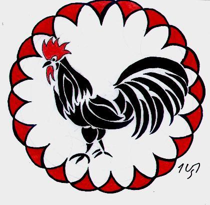 chinese tribal the rooster by sakashima on deviantart. Black Bedroom Furniture Sets. Home Design Ideas