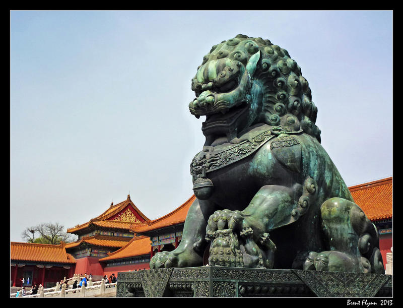 Forbidden City Guardian by DarthIndy