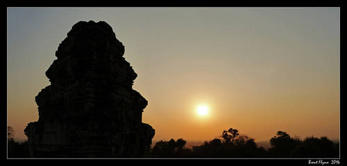 Angkor Sunset 01