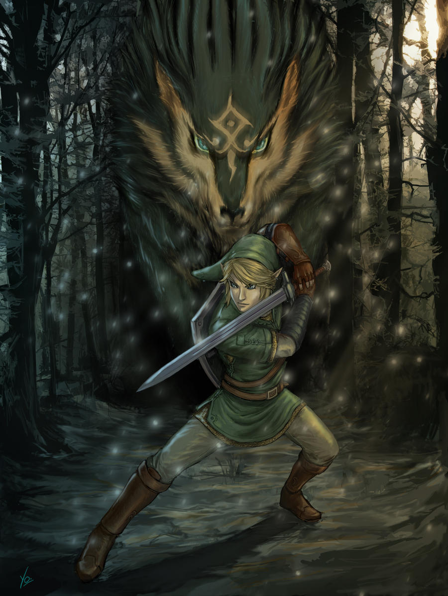 Link-Wolf FINAL by YamaOrce on DeviantArt