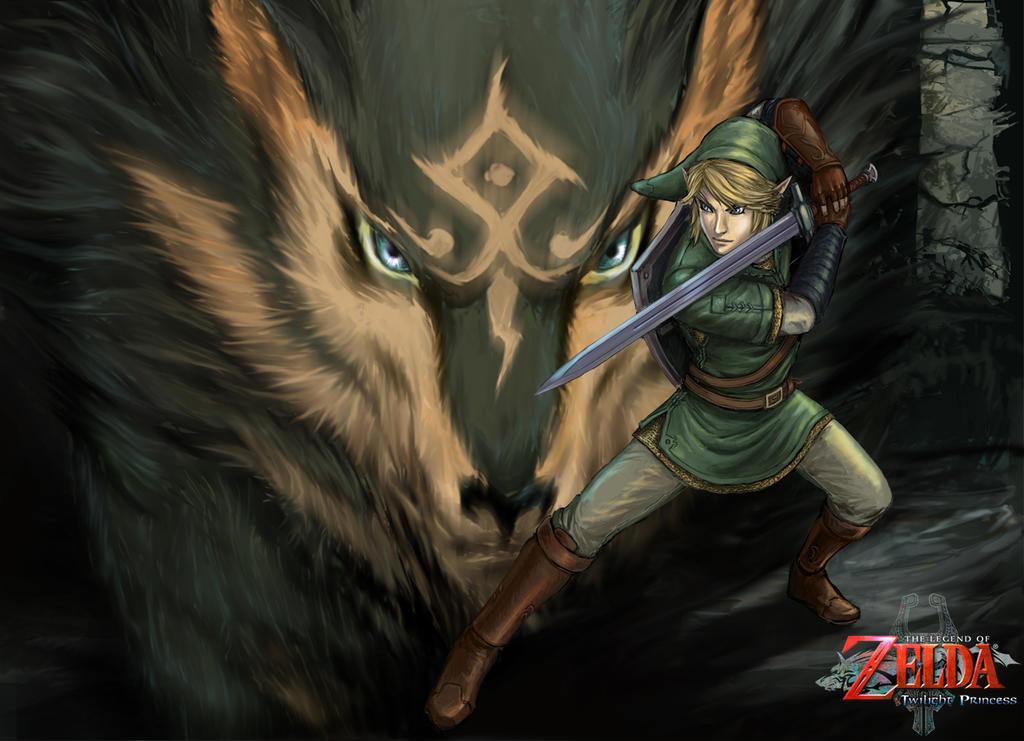Link-Wolf wp by YamaOrce on DeviantArt