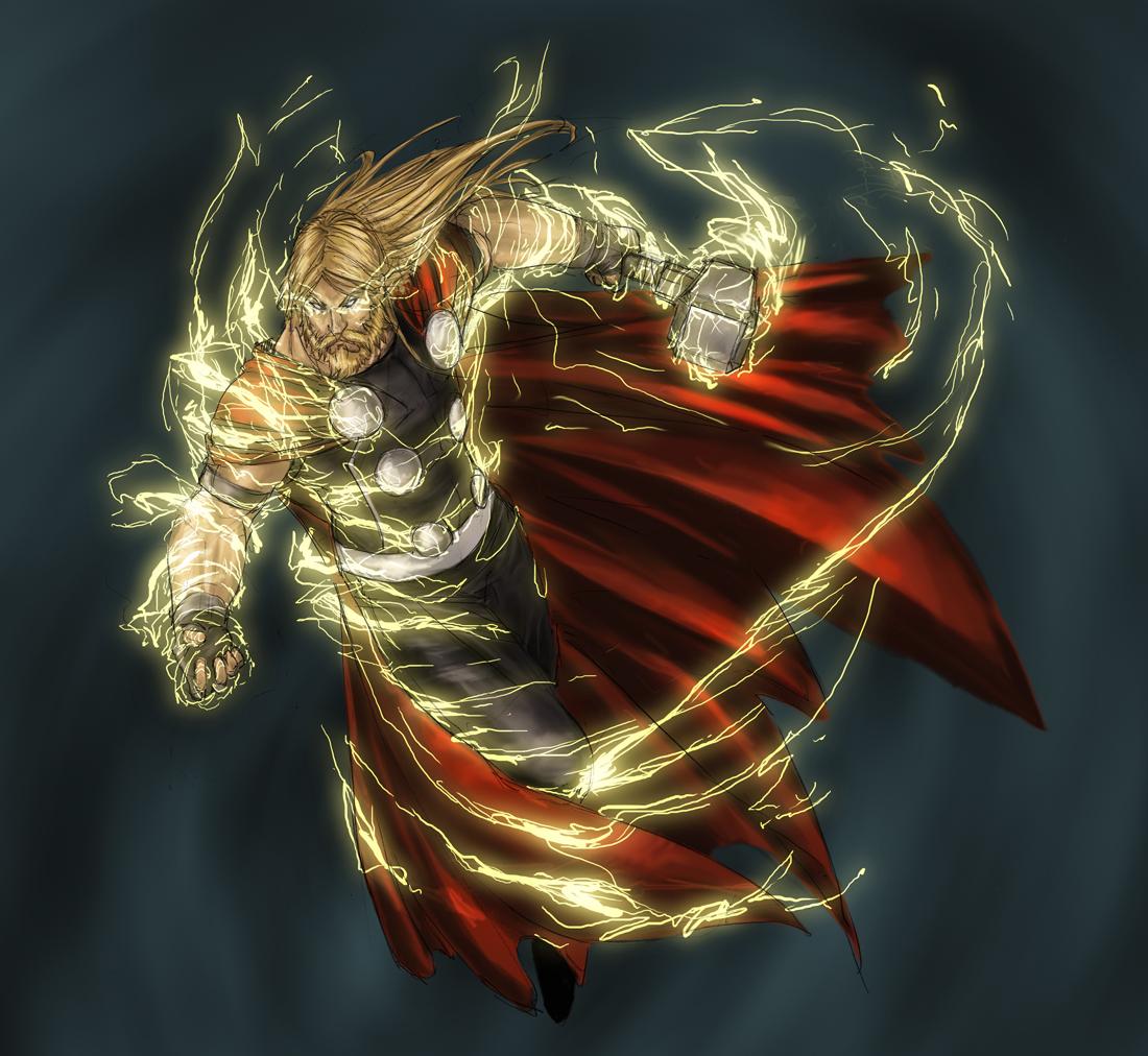 Asgard > Einar Thorson Thor_by_YamaO