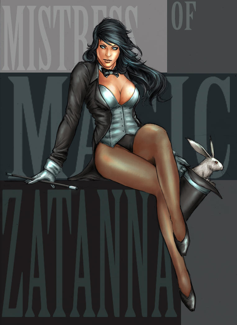 Zatanna- fanart by YamaOrce