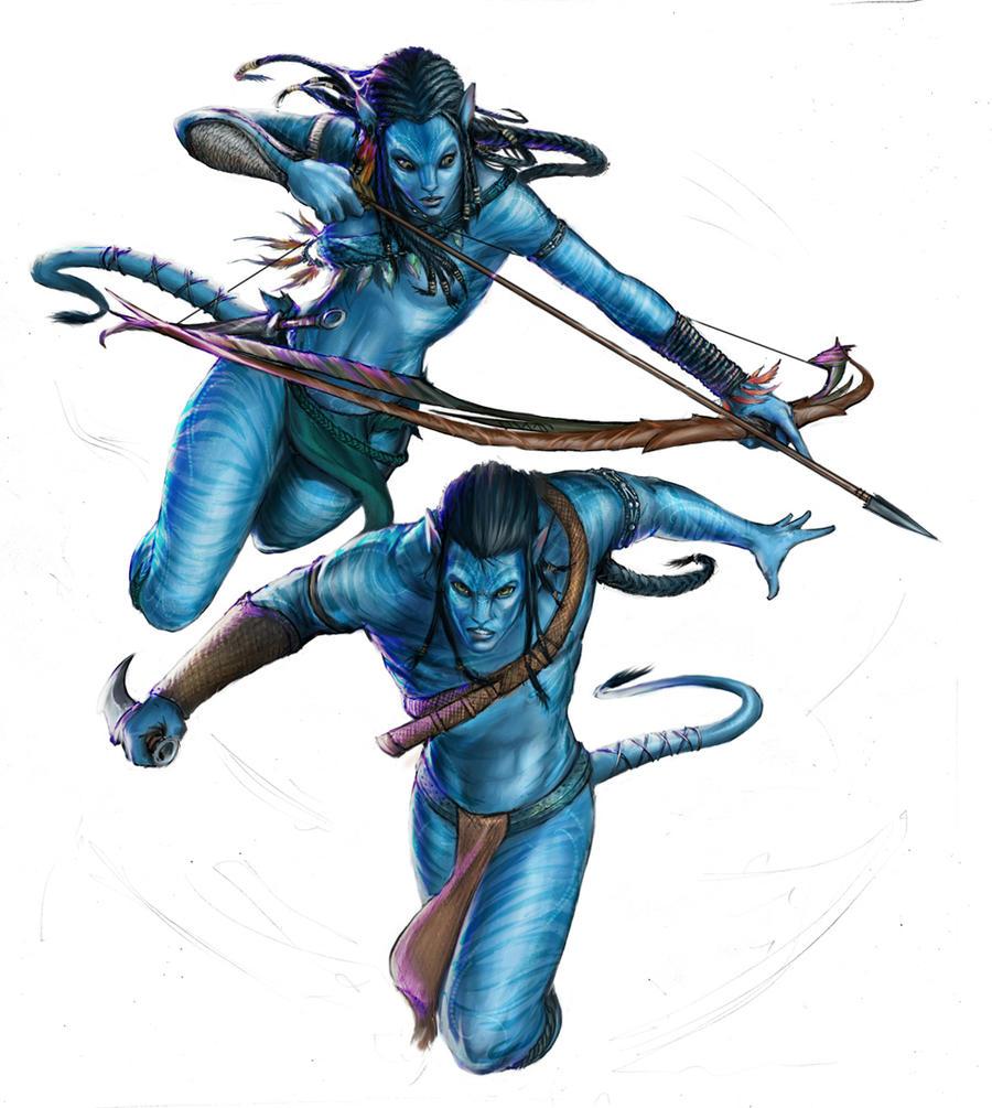 Avatar fanart by YamaOrce