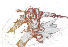 Dragon Age - Hawke by YamaOrce