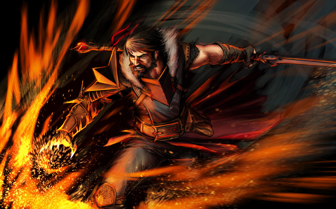 Dragon Age - Hawke fv by YamaOrce
