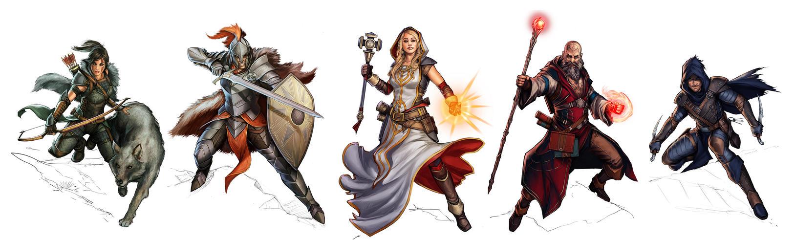 Characters 3 by YamaOrce