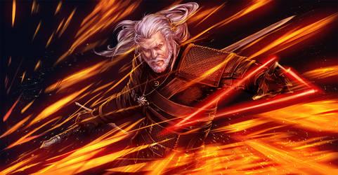 The Witcher 3_Geralt