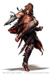 Pathfinder-Darius by YamaOrce