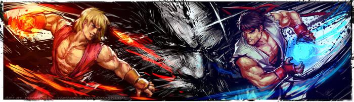 Ultra Street Fighter 4 Ryu-Ken by YamaOrce