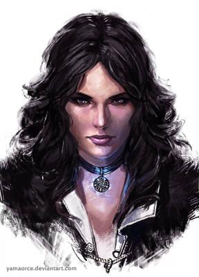 Yennefer Portrait