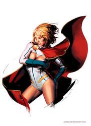 Powergirl by YamaOrce
