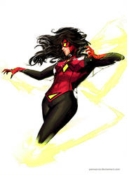 Spiderwoman by YamaOrce