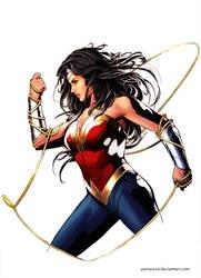 Wonder Woman by YamaOrce