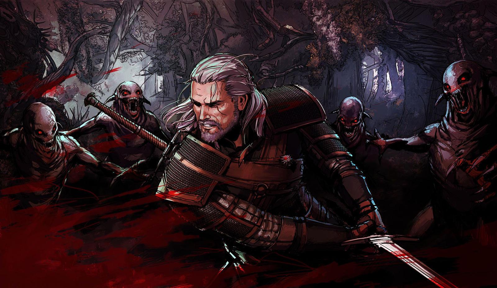 Geralt Of Rivia By YamaOrce On DeviantArt