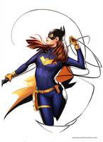 Batgirl by YamaOrce