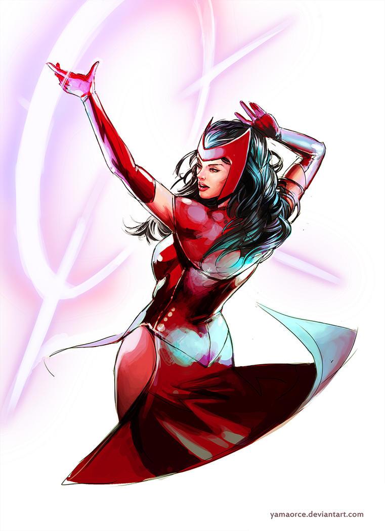 Scarlet Witch by YamaOrce