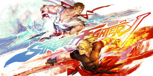 SFV Ryu-Ken by YamaOrce