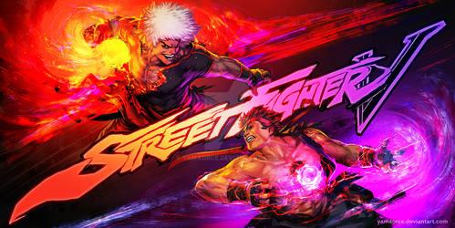 SFV Violent Ken-Evil Ryu