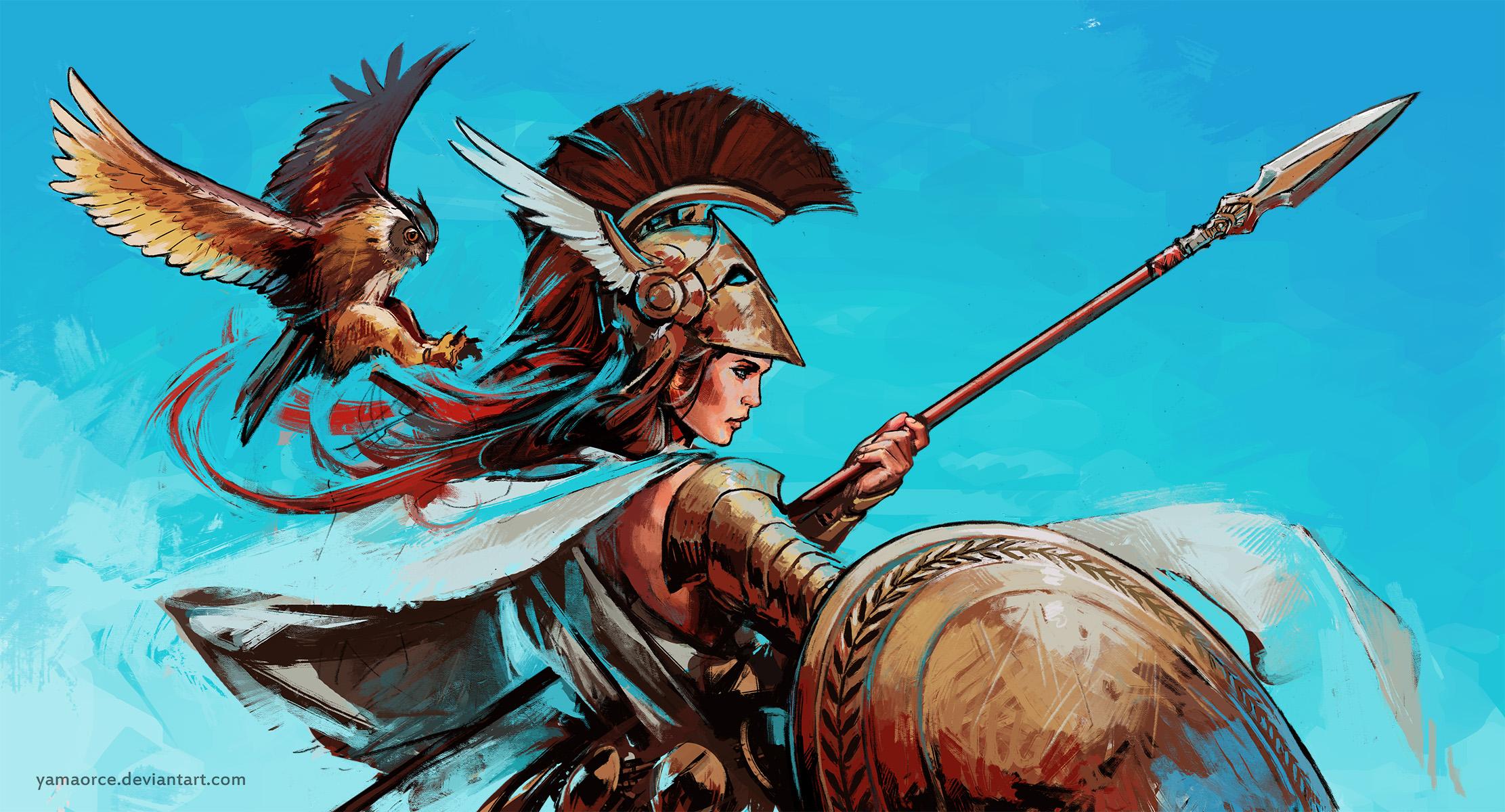 Athena 2 by YamaOrce on DeviantArt