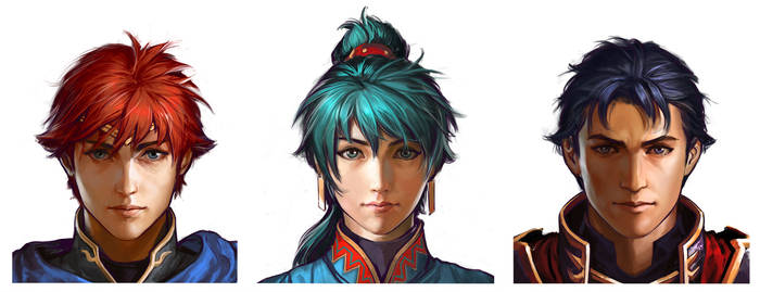 Fire Emblem portraits