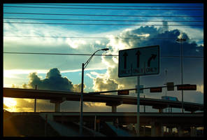 Highway to the clouds by LeGreg