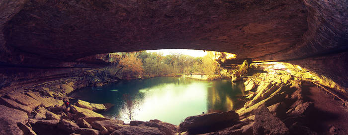 Hamilton Pool at Sunset