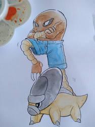 Random PKMN in Watercolor by Willian92