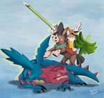 Sirfetchd  Dragon Slayer.