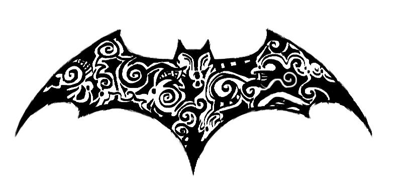 batman tattoo design by senneth on deviantart. Black Bedroom Furniture Sets. Home Design Ideas