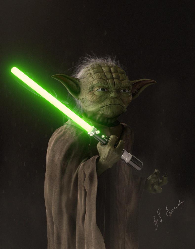 Master Yoda by Panc0