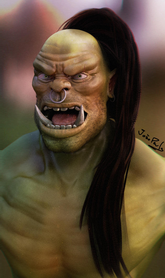 Orc by Panc0