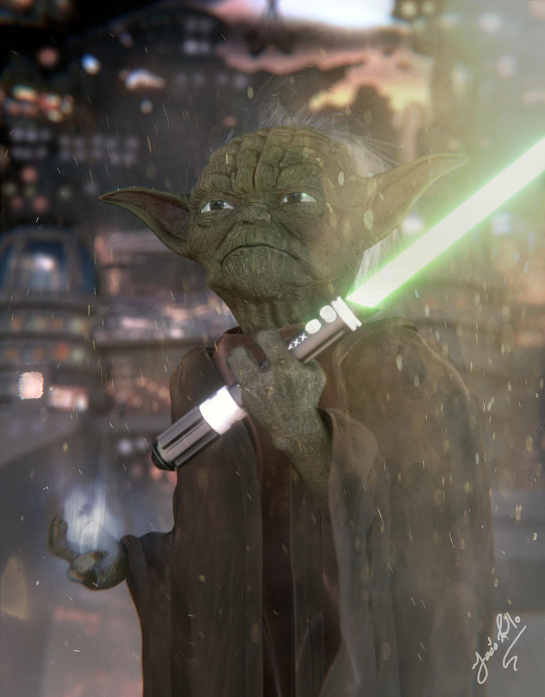 Yoda - Star Wars by Panc0