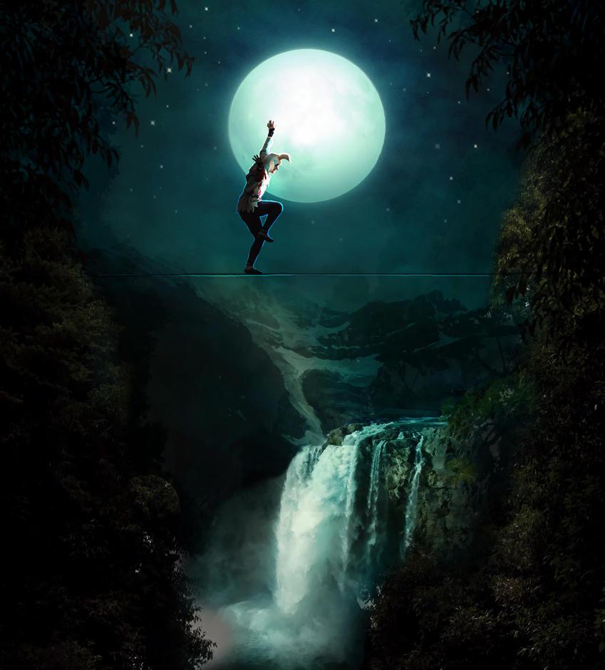 Au clair de la lune by Manink