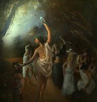 Bacchus (Dionysus) by Madink-art