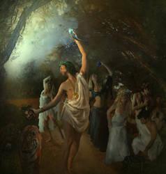 Bacchus (Dionysus) by Jans-art
