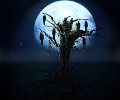 Gallows tree by Madink-art