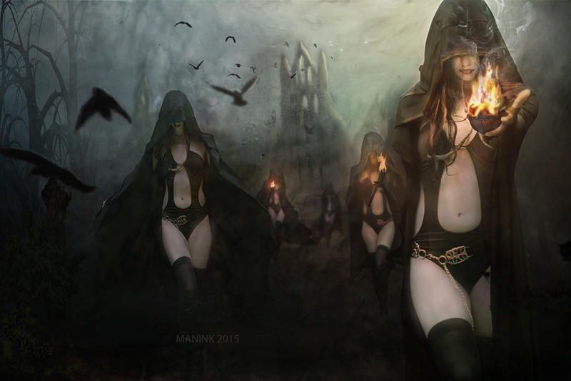 Sisters Of Night by Digitiel