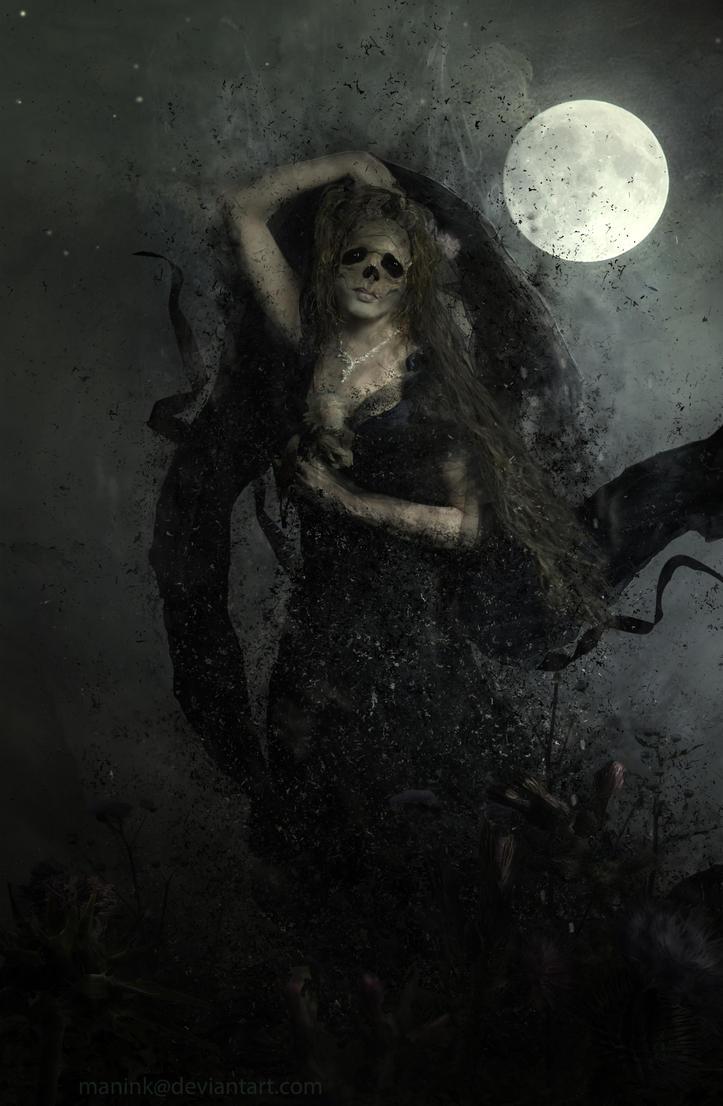 Dark Spirit by Manink