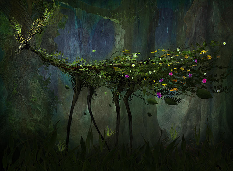 Deep Forest Creature