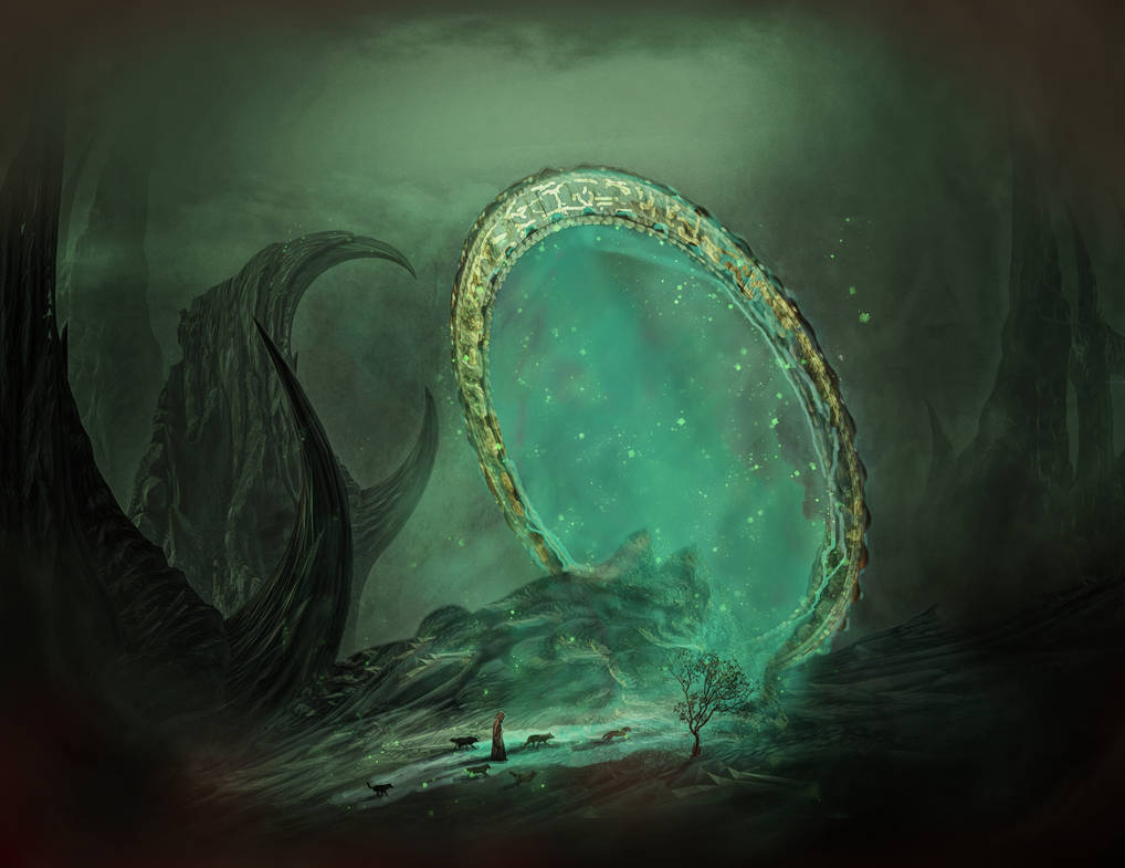 The Portal by Jans-art