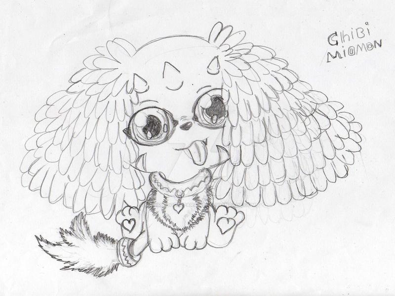 chibi Miomon by mariridoodleparadise