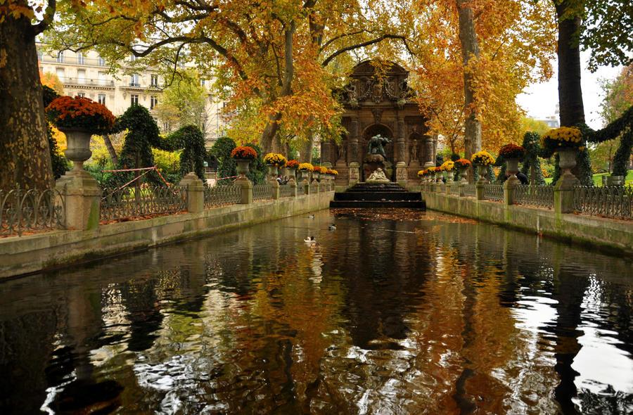 jardin et palais du luxembourg by clutchkitten on deviantart