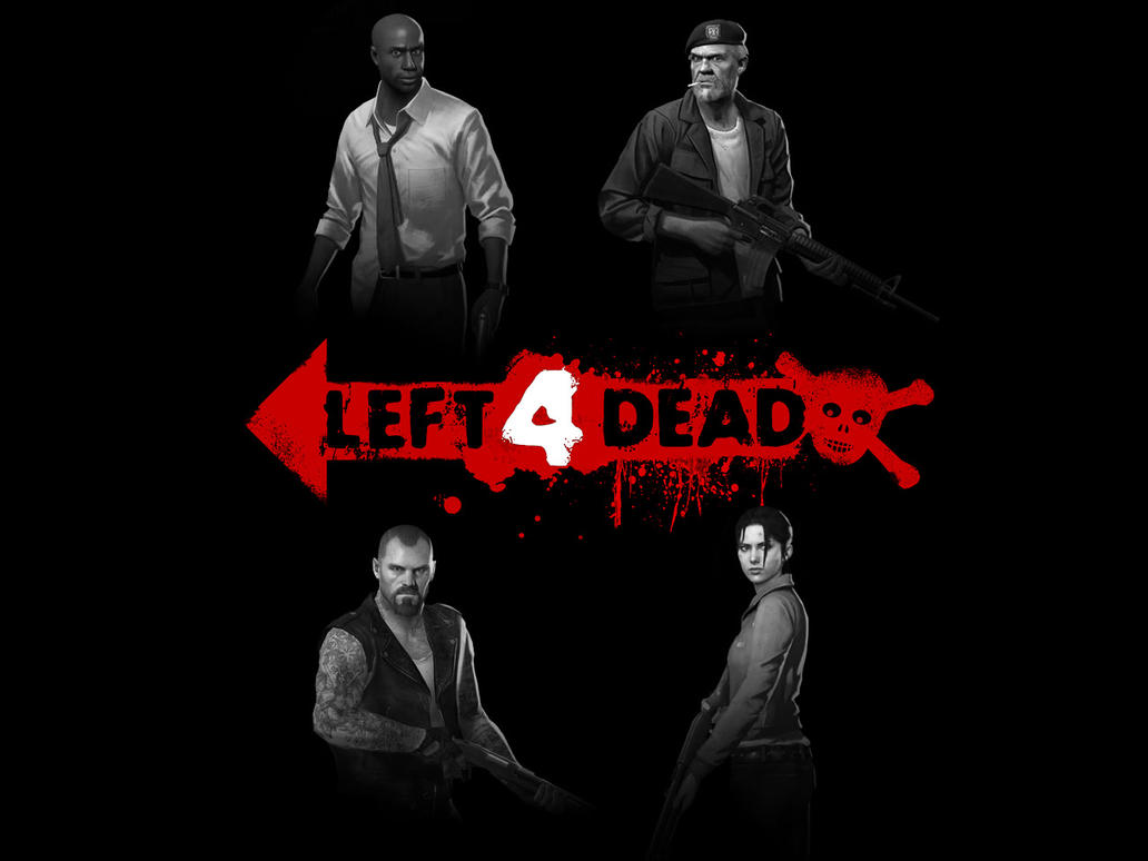 Left 4 Dead Survivors by UFO-etc
