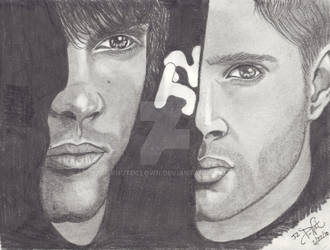 Sam and Dean J2 by pnutdclown