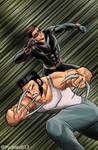 Uncanny X-Men Wolverine and Cyclops