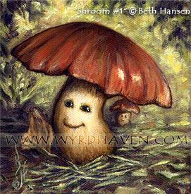 Shroom no.1 by BlondeWitch