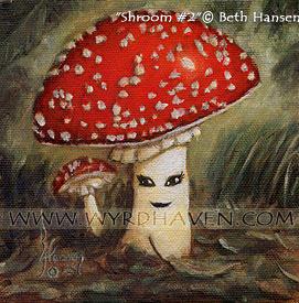Shroom no. 2 by BlondeWitch