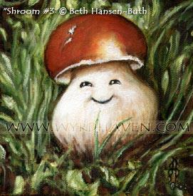 Shroom no.3 by BlondeWitch